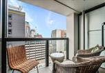 Location vacances Auckland - Sky Tower on Your Doorstep! Modern Two Bedroom-3