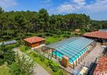 Camping avec Ambiance club Vielle-Saint-Girons - Camping  Landes Océanes-4