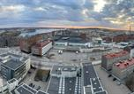 Location vacances Tampere - Tampere City view 14th floor luxury apartment-1