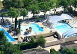 Camping avec Piscine Balazuc - Camping Les Coudoulets-2