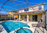 Location vacances Kissimmee - Kissimmee Villa Sleeps 12 Pool Air Con Wifi-3