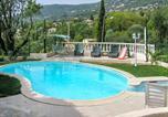 Location vacances Spéracèdes - Appartement d'une chambre a Peymeinade avec magnifique vue sur la montagne piscine privee jardin clos a 15 km de la plage-2