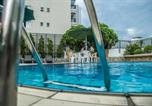 Hôtel Santos - Cosmopolitan Praia Flat-3