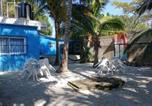 Hôtel Mexique - Blue Magic Hostel-1