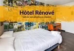 Hôtel Centre - Hotelf1 Bourges Le Subdray Rénové-1