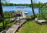 Location vacances Green Lake - Waterfront Chain O Lakes Cabin with Boat Dock!-3
