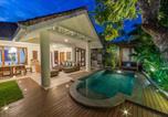 Location vacances Denpasar - Relaxing Villa, Private Pool, Free Wifi, Bbq Facilities at Seminyak Side-1