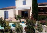 Location vacances  Alpes-de-Haute-Provence - L'eden d'ètè au Mazier des 3ifs piscine de 11 par 4m chauffée-2