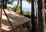 Camping avec Quartiers VIP / Premium Saint-Mandrier-sur-Mer - Homair - La Baie des Anges-3