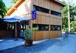 Camping avec Piscine couverte / chauffée Lège-Cap-Ferret - Flower Camping Le Médoc Bleu-2