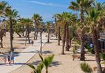 Camping Côte d'Azur - Mobil Homes Vacances - Camping les Prairies de la Mer-1