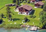 Location vacances Weißensee - Chalets Zöhrer - Wohnen am Wasser-1