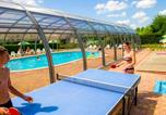 Camping avec Piscine couverte / chauffée Sanchey - Camping Clos de la Chaume - Camping French Time-4