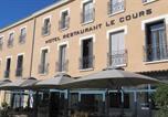 Hôtel Générac - Logis Le Cours-1