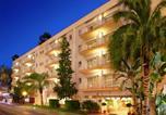 Hôtel 4 étoiles Pineda de Mar - Hotel Les Palmeres-1