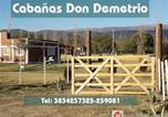 Location vacances  Argentine - Cabañas Don Demetrio-1
