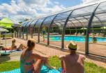 Camping avec Piscine couverte / chauffée Sanchey - Camping Clos de la Chaume - Camping French Time-3