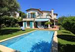 Hôtel Antibes - Chambres Privée - Villa Les Oliviers-1