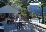 Camping avec Piscine Saint-Sauveur-de-Montagut - Camping Les Chênes-4