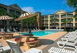 Hôtel Galveston - Beachfront Palms Hotel