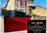 Hôtel Saint-Bonnet-le-Froid - Les Rêves d'Églantine et d'Augusta Chambres et Gîtes-1