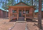 Location vacances Holbrook - Overgaard Cabin at Bison Ranch with Grill and Deck-3