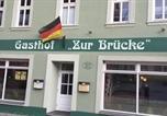 Hôtel Eisleben, Lutherstadt - Gasthof &quote; Zur Brücke&quote;-3