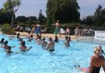 Camping avec Parc aquatique / toboggans Basse-Normandie - Camping l'Etang des Haizes-3