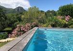 Location vacances Vence - A 15 mn de St Paul, Rez de jardin, 2 chbres, écrin de verdure, piscine, calme-1