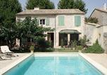 Location vacances  Gard - Odalys Villa Congenies avec Piscine-2