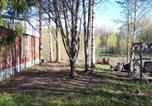 Location vacances Lappeenranta - 3 bedroom housé with tráditional stöve in Sauná ànd big fireplaše hall near lake-4