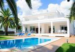 Location vacances Santanyí - Cala Egos Villa Sleeps 8 Pool Wifi-1