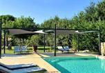 Location vacances Gordes - Mas Oréa côté piscine-2