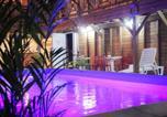 Location vacances  Martinique - Résidence Fruit de la Passion Rose-3