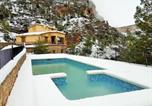 Location vacances Hornos - Casas Rurales Mirador de Zumeta-4