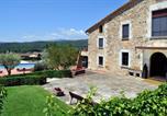 Location vacances Sant Gregori - Mas Ferran, Preciosa Villa De Lujo Con Pista De Tenis, Piscina, Gimnasio Y Wifi Gratuito-1