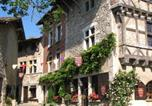 Hôtel Villette-sur-Ain - Hostellerie du Vieux Pérouges-1