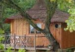 Camping Cazarilh - Les Cabanes de Pyrène-1