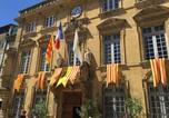 Hôtel Grans - Hotelf1 Salon de Provence-4