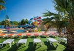Camping avec Piscine couverte / chauffée Canet-en-Roussillon - Camping Club Les Tamaris -3