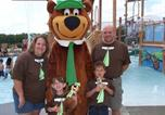 Camping avec Parc aquatique / toboggans États-Unis - Yogi Bear's Jellystone Park Camp-Resort Wisconsin Dells-2