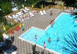 Location vacances  Province de Modène - Bungalow with one bedroom in Maserno with shared pool and furnished garden-1