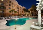 Hôtel Sunny Isles Beach - Courtyard by Marriott Miami Aventura Mall-1