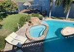Location vacances Cape Coral - Stunning Waterfront Villa in Cape Coral with Lagoon Style Pool Spa and Boat Lift-1
