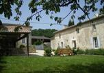 Location vacances Le Pizou - Spacious Mansion with Private Pool in Saint-Cibard-2