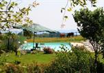 Location vacances Bagnoregio - Antico casale in pietra sovrastante il lago di Bolsena Un magnifico rifugio in posizione isolata e panoramica con giardini e piscina-3