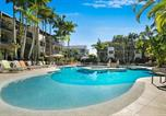 Location vacances Little Cove - Noosa Beach Apartment on Hasting St French quarter resort.Noosa Heads-1