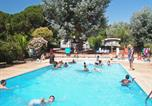 Camping avec Piscine Antibes - Camping Le Plateau des Chasses-1