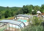 Camping avec Piscine Les Eyzies-de-Tayac-Sireuil - Camping Les Charmes-1