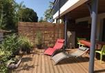 Location vacances  Gironde - Apartment Bel appartement avec magnifique terrasse pour 6 personnes proche centre ville-1